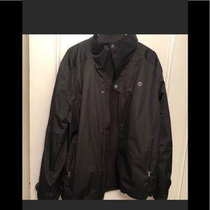 Timberland men's jacket fleece lined waterproof